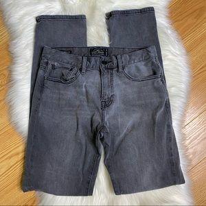 Lucky Brand Original Straight 221 Grey Jeans Sz 30
